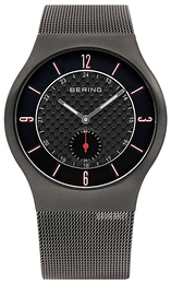 Bering Classic Sort/Stål Ø40 mm 11940-377