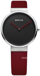 Bering Classic Sort/Læder Ø31 mm 14531-642