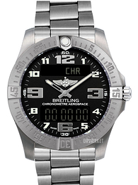 Breitling Aerospace Evo Sort/Titanium Ø43 mm E7936310-BC27-152E