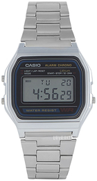 Casio Casio Collection Grå/Stål A158WA-1DF