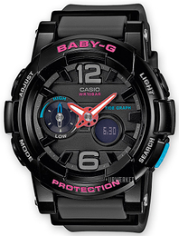 Casio Baby-G Sort/Resinplast Ø44 mm BGA-180-1BER