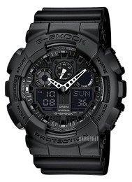 Casio G-Shock Sort/Resinplast Ø51.2 mm GA-100-1A1ER