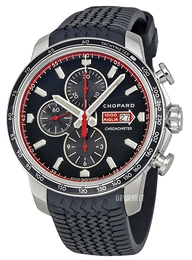 Chopard Mille Miglia Sort/Gummi Ø44 mm 168571-3001