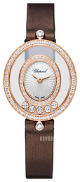 Chopard Happy Diamonds Icons Hvid/Satin Ø25.8 mm 204292-5201