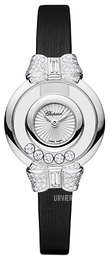 Chopard Happy Diamonds Icons Hvid/Satin Ø25.8 mm 209425-1001