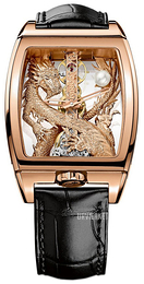 Corum Dragon Skeletskåret/Læder 113.265.55-0001 GD55R
