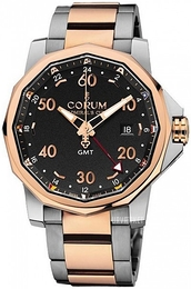 Corum Admirals Cup Challaenger 44 Sort/Stål Ø44 mm 383.330.24-V705 AN12