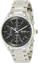 Hugo Boss Chronograph Sort/Stål Ø46 mm 1513477