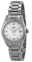 Longines Conquest Ladies Sølvfarvet/Stål Ø29.5 mm L2.285.4.76.6