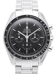 Omega Speedmaster Moonwatch Professional 42mm First Man on Moon Sort/Stål Ø42 mm 311.30.42.30.01.005
