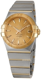 Omega Constellation Co-Axial 35mm Champagne/18 karat guld Ø35 mm 123.20.35.20.08.001