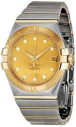 Omega Constellation Co-Axial 35mm Champagne/18 karat guld Ø35 mm 123.20.35.20.58.001