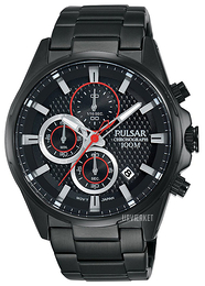 Pulsar Sport Sort/Stål Ø43 mm PM3065X1