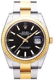 Rolex Datejust 41 Sort/18 karat guld Ø41 mm 126333-0013