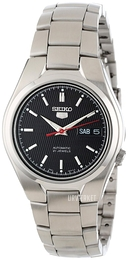Seiko 5 Sort/Stål Ø36 mm SNK607K1