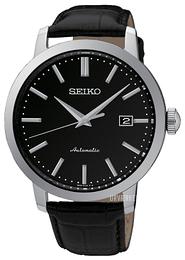 03116c66552 Seiko Dress Sort/Læder Ø42 mm SRPA27K1