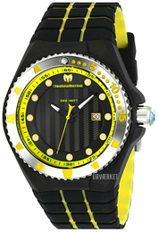 Technomarine Cruise Locker Sort/Gummi Ø45 mm TM-115218