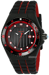 Technomarine Cruise Locker Sort/Gummi Ø45 mm TM-115219
