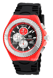Technomarine Cruise Jellyfish Sort/Gummi Ø44 mm TM-115296