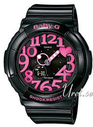 Casio Baby-G Sort/Resinplast Ø43.1 mm BGA-130-1BER