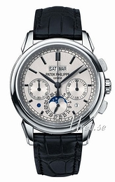 Patek Philippe Grand Complications Sølvfarvet/Læder Ø41 mm 5270G