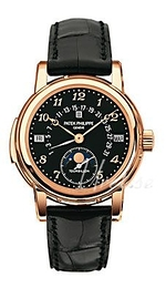 Patek Philippe Grand Complications Sort/Læder Ø36.8 mm 5016R/011