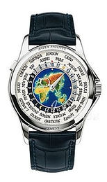 Patek Philippe Grand Complications Europe-Asia World Time Flerfarvet/Læder Ø39.5 mm 5131G/001