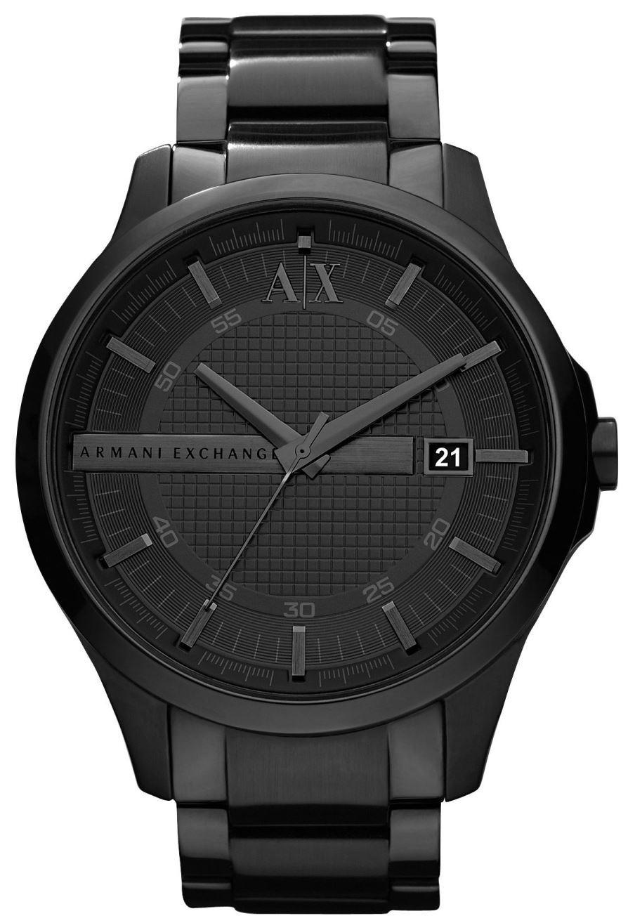 Armani Exchange Smart Herreur AX2104 Sort/Stål Ø46 mm