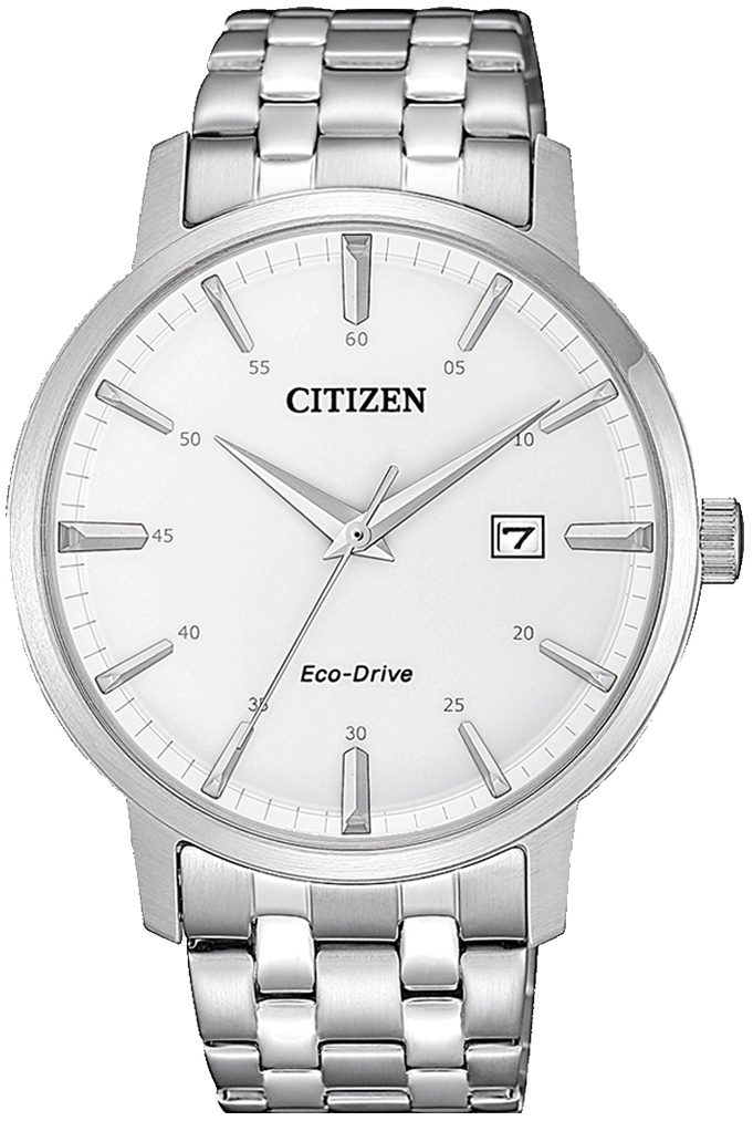 Citizen 99999 Herreur BM7460-88H Hvid/Stål Ø40 mm