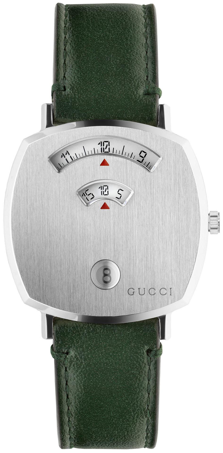 Gucci 99999 YA157406 Sølvfarvet/Læder