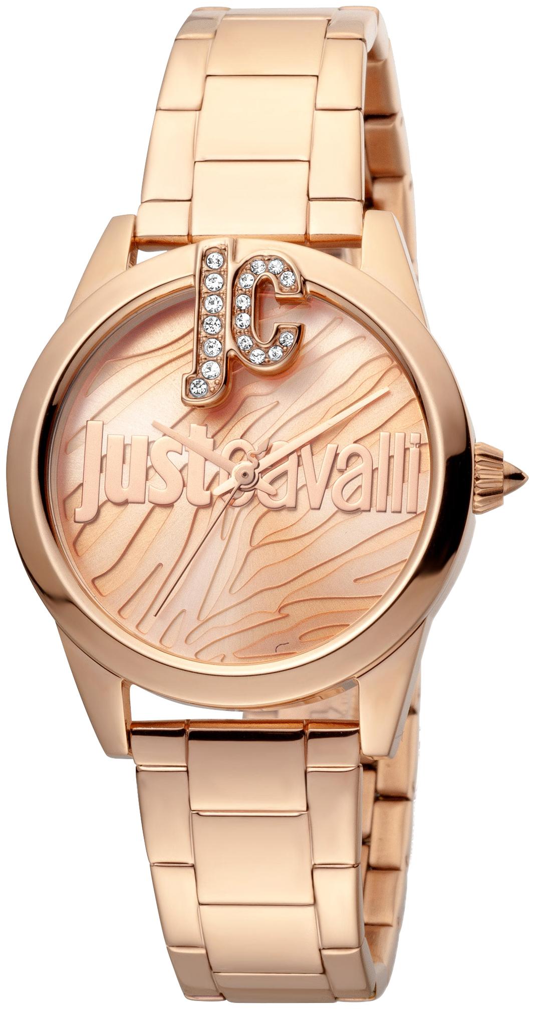 Just Cavalli 99999 Dameur JC1L099M0075 Rosa guldfarvet/Rosaguldtonet