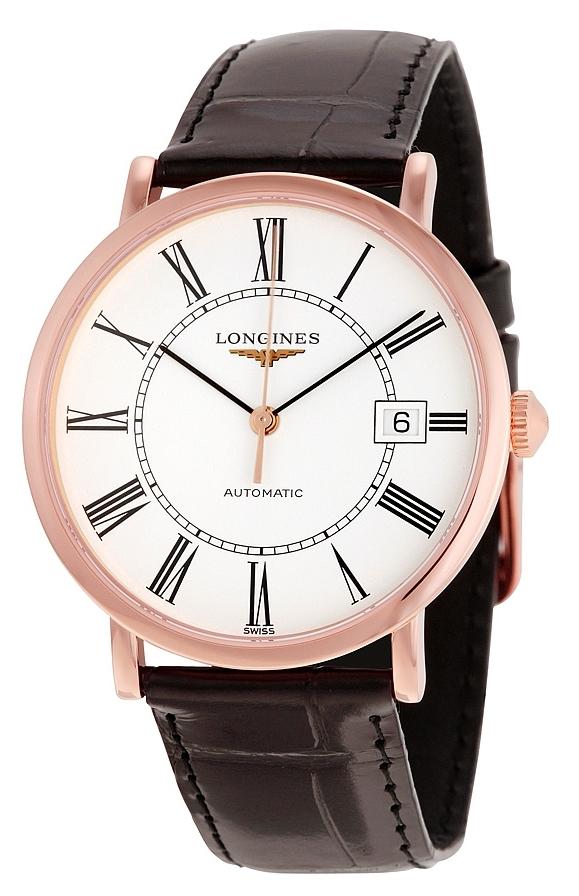 Longines Grande Classique Dameur L4.787.8.11.0 Hvid/Læder Ø37 mm