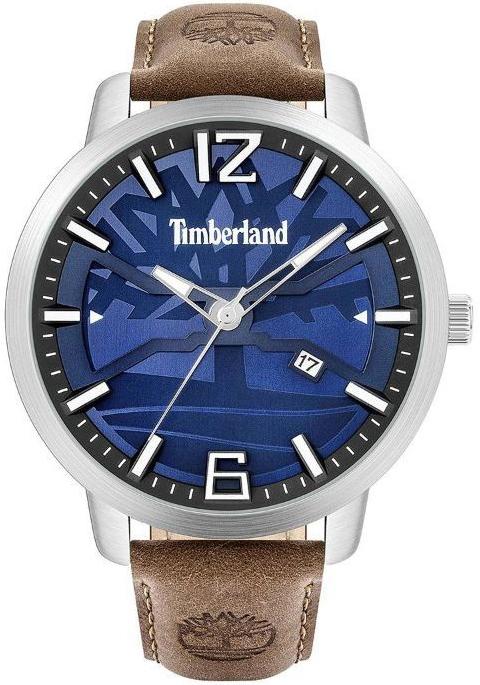 Timberland 99999 Herreur TBL15899JYS03-G Blå/Læder Ø48 mm