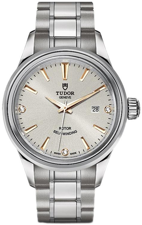 Tudor Style Dameur 12100-0019 Sølvfarvet/Stål Ø28 mm