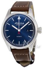 Alpina Startimer Blå/Læder Ø45.5 mm