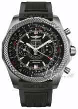Breitling for Bentley Supersports B55 Sort/Gummi Ø49 mm