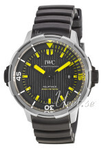 IWC Aquatimer Sort/Gummi Ø46 mm