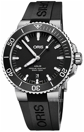 Oris Diving Sort/Gummi Ø43.5 mm 01 733 7730 4124-07 4 24 64EB