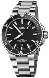 Oris Diving Sort/Stål Ø43.5 mm 01 733 7730 4124-07 8 24 05EB