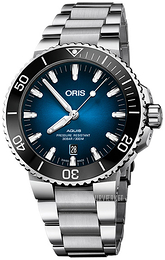 Oris Diving Blå/Stål Ø43.5 mm 01 733 7730 4185-Set MB