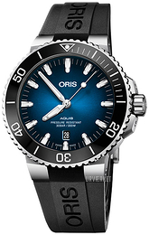 Oris Diving Blå/Gummi Ø43.5 mm 01 733 7730 4185-Set RS
