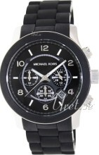 Michael Kors Runway Sort/Plast Ø42 mm
